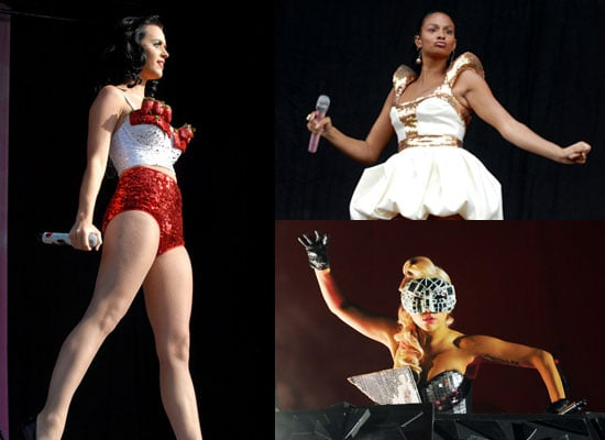 Photos of Lady GaGa, Katy Perry, Alesha Dixon, Lily Allen, McFly, Amy Winehouse, Pete Doherty and More at V Festival 2009