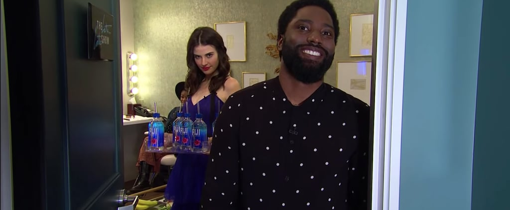 Fiji Water Girl on The Late Late Show With James Corden