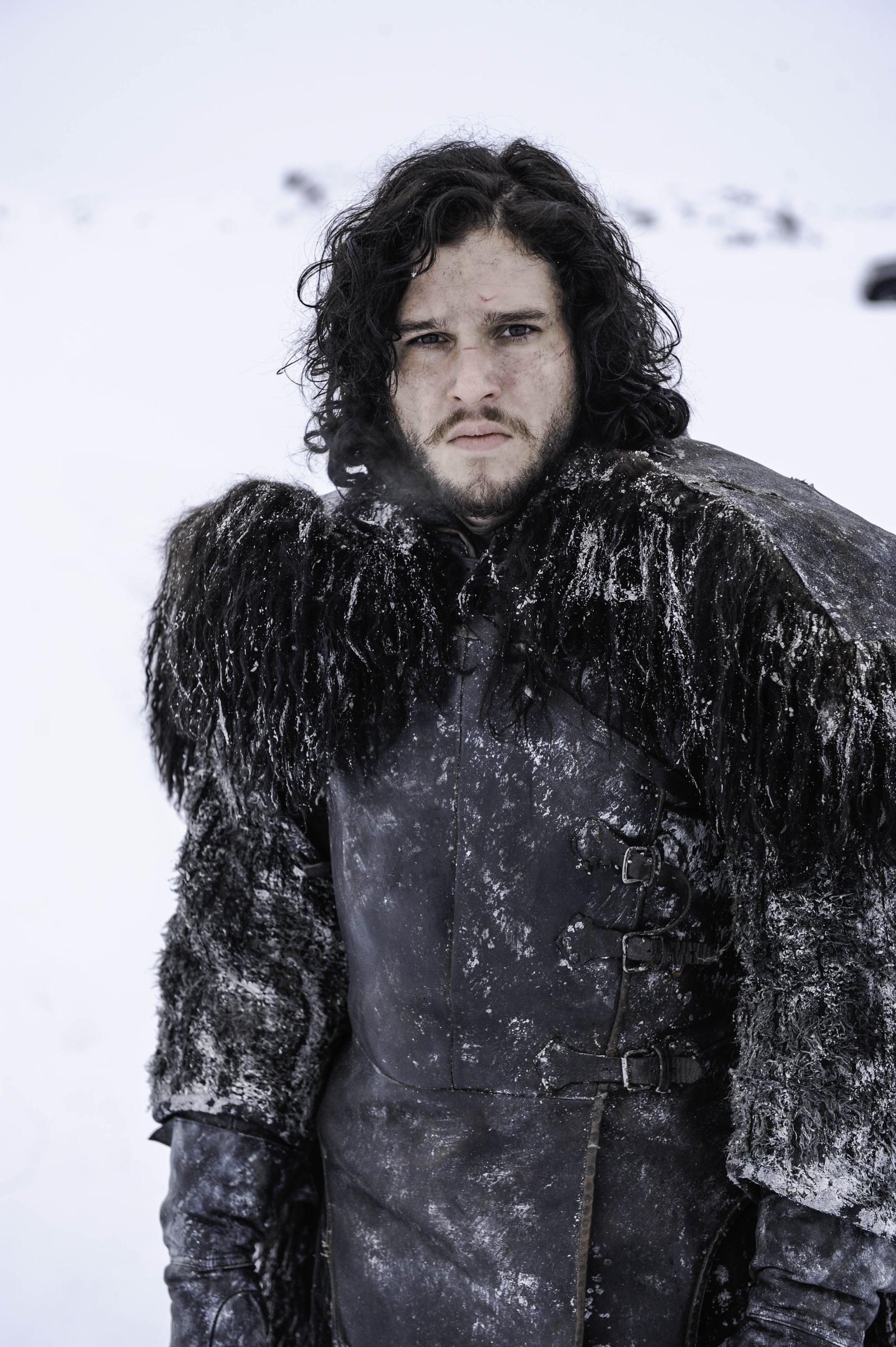 And his character Jon Snow is always really broody. As in, zero smiling.