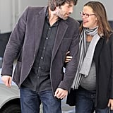 in January 2012, Jennifer Garner and Ben Affleck showed affection during a day out in LA.