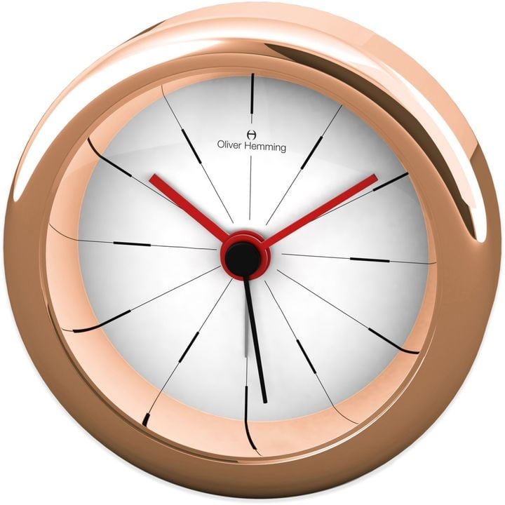 Oliver Hemming Desire Alarm Clock in Rose Gold ($80)