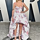 Chiara Ferragni at the Vanity Fair Oscars Afterparty 2020
