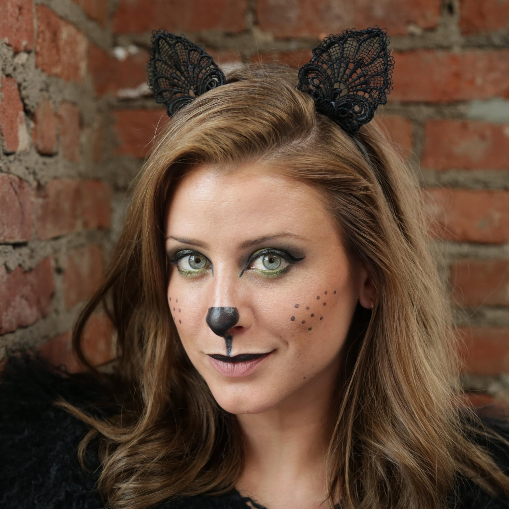 Halloween cat makeup tutorial from lo bosworth popsugar beauty baditri Choice Image
