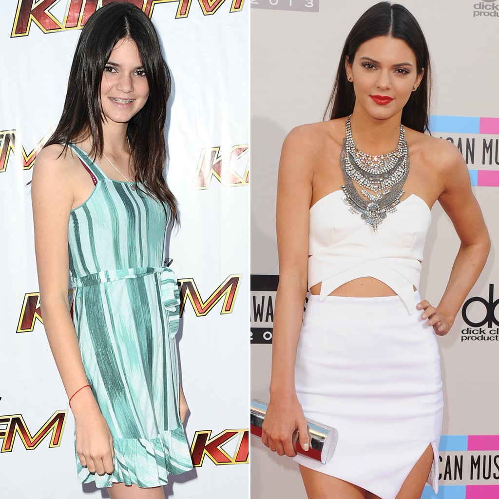 Kendall Jenner Growing Up Pictures