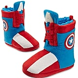 Disney Captain America Deluxe Slippers for Kids