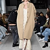 Lindsay Ellingson at Brock Collection Fall 2019
