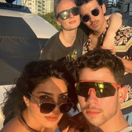 Jonas Brothers, Sophie Turner, Priyanka Chopra Miami Photos