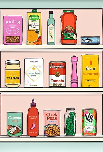 Pantry Staples to Always Have on Hand