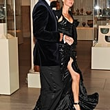Tom Brady and his Givenchy-clad wife Gisele Bundchen arrived for the dinner. Billy Farrell/BFAnyc.com