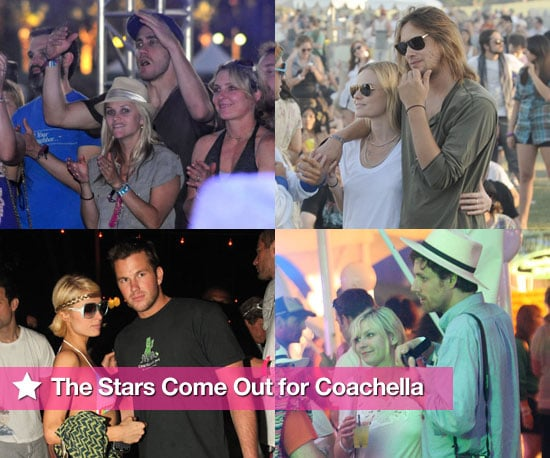 Photos of Reese Witherspoon, Jake Gyllehaal, Anne Hathaway, Paris Hilton, Kirsten Dunst, Chloe Sevigny at 2009 Coachella