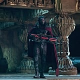 Omar Sy appears as Bishop.