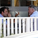 Possible Partners? Ben Affleck Meets With Gone Girl Director David Fincher!