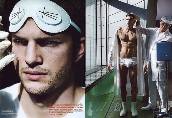 Ashton Kutcher For V Man Magazine