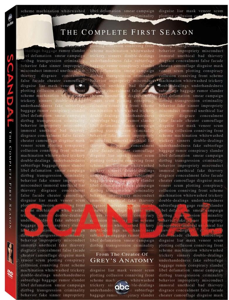 Scandal: Season 1 on DVD ($20)