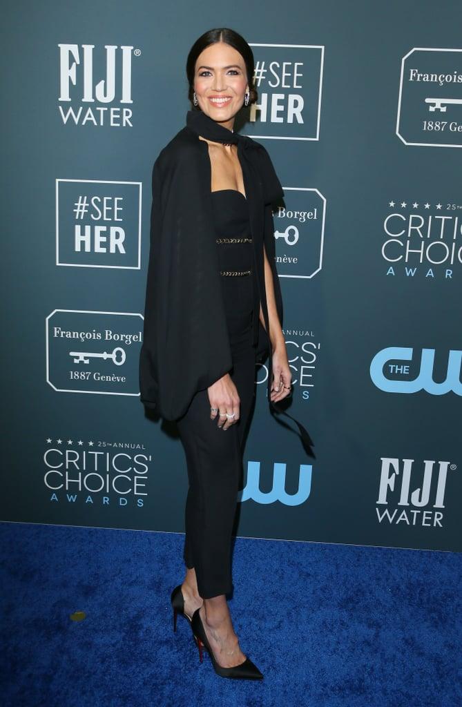 Mandy Moore at the 2020 Critics' Choice Awards