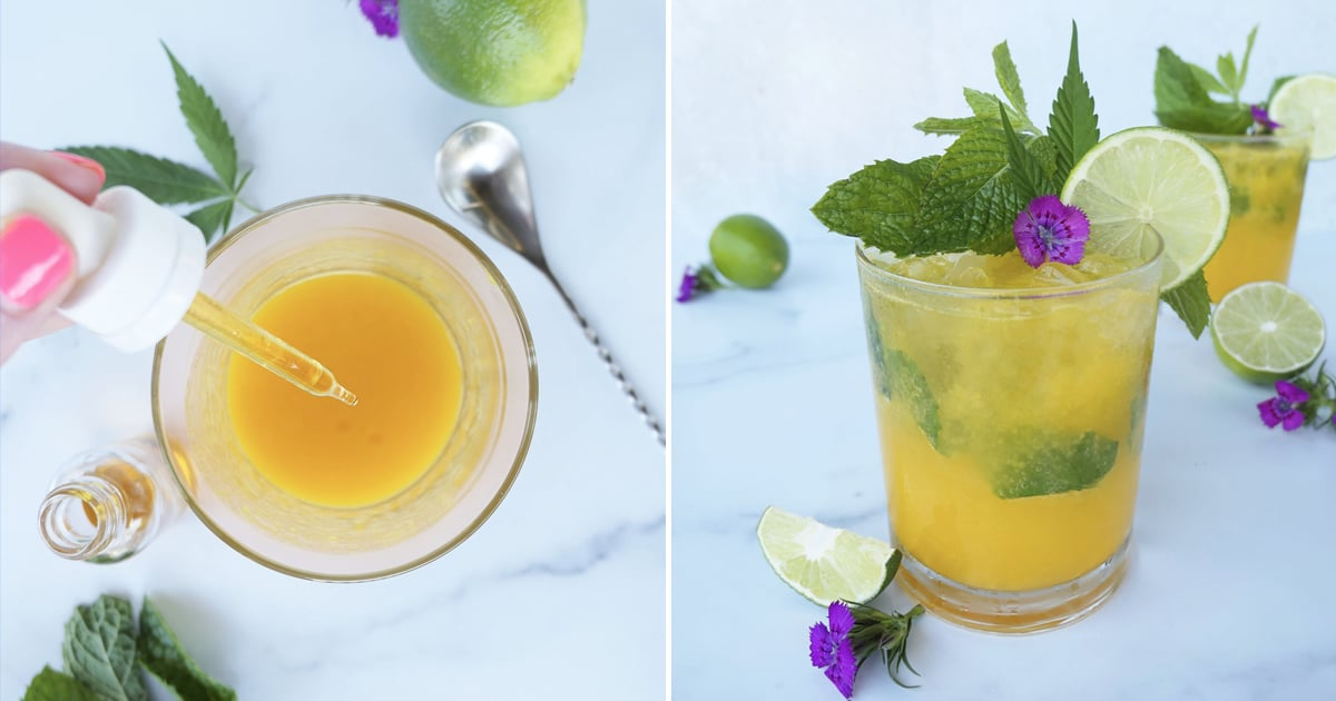 A CBD Mango Mojito Is Like Sunshine in a Glass — and the Perfect Way to De-Stress