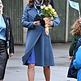 Kate Middleton Blue Seraphine Dress