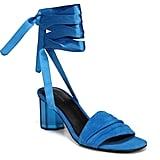 Via Spiga Nova Ankle Wrap Sandals