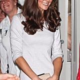Kate Middleton payed a visit to a London Hospital.