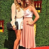 Lauren Conrad and Lauren Bosworth attended the 2nd annual Veuve Clicquot Polo Classic.