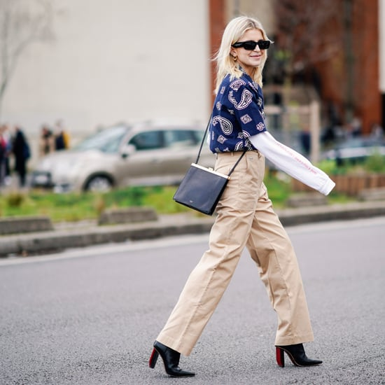 How to Wear Wide-Leg Pants Under $50