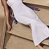 Carolina Herrera Bridal Hyacinth Column Dress