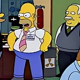 Homer Simpson, The Simpsons Job: nuclear plant safety inspector Median annual salary: $37,100 Seems like someone in charge of nuclear safety should earn much more than this!