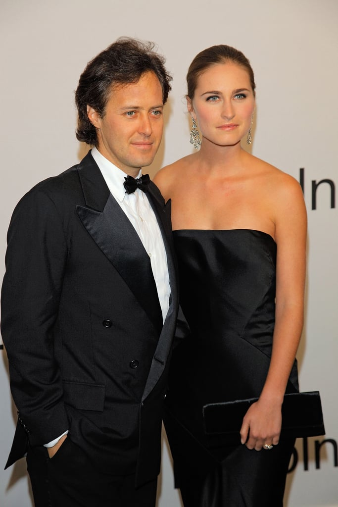 David Lauren and Lauren Bush came out to honor David's father, Ralph Lauren.