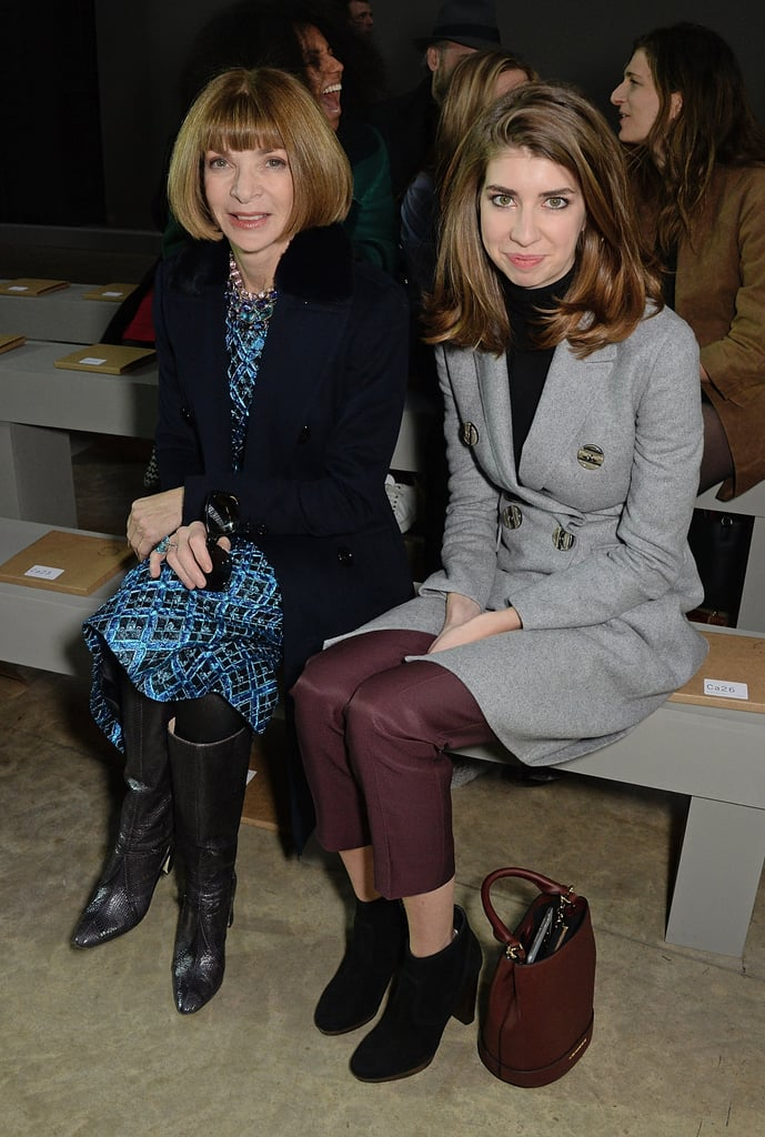 Anna Wintour and her niece