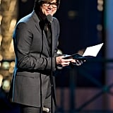 Jim Carrey was a presenter at the Comedy Awards in NYC.