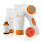 The Clarisonic Pedi Sonic Foot Transformation ($199) just launched this month, and this pulsating foot tool is a no-brainer. Clarisonic reworked its popular technology to work at a higher frequency for tired, rough soles. The kit comes with an aluminum disc to smooth away dry, rough patches, a buffing brush, an exfoliating treatment, a buffing treatment, and a hydrating balm. Now you can work magic on your feet with the press of a button. — KD