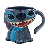 This cute Stitch Figural Mug ($23) is perfect parts goofy and functional.