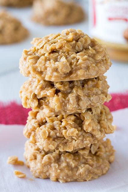 Biscoff No-Bake Cookies