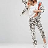 Wildfox Couture Retro Leopard Tracksuit Pant