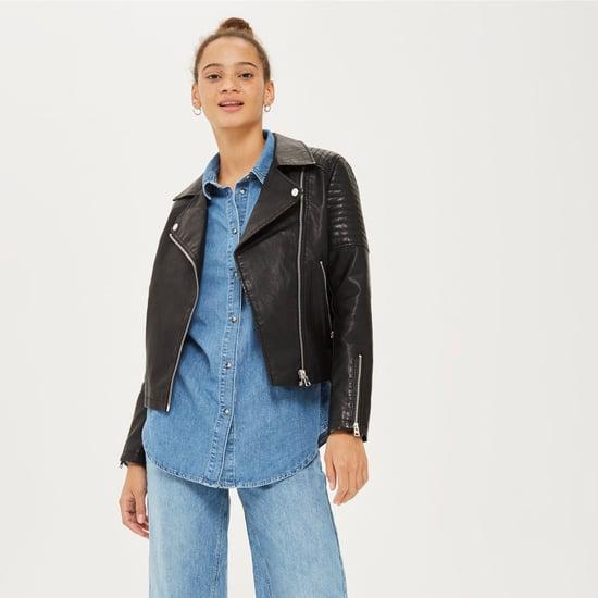 Nordstrom Anniversary Sale Topshop Leather Jacket 2018