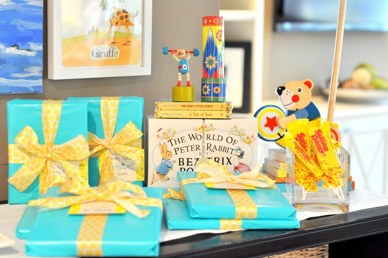 Little Golden Books Baby Shower