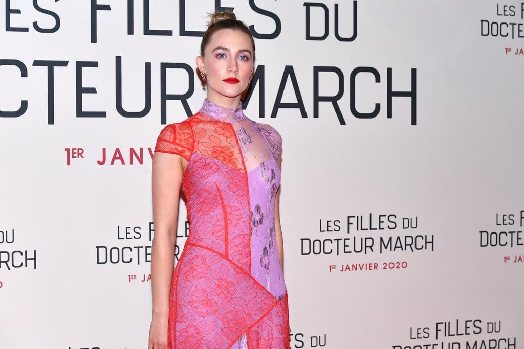Saoirse Ronan at the Little Women Premiere in Paris