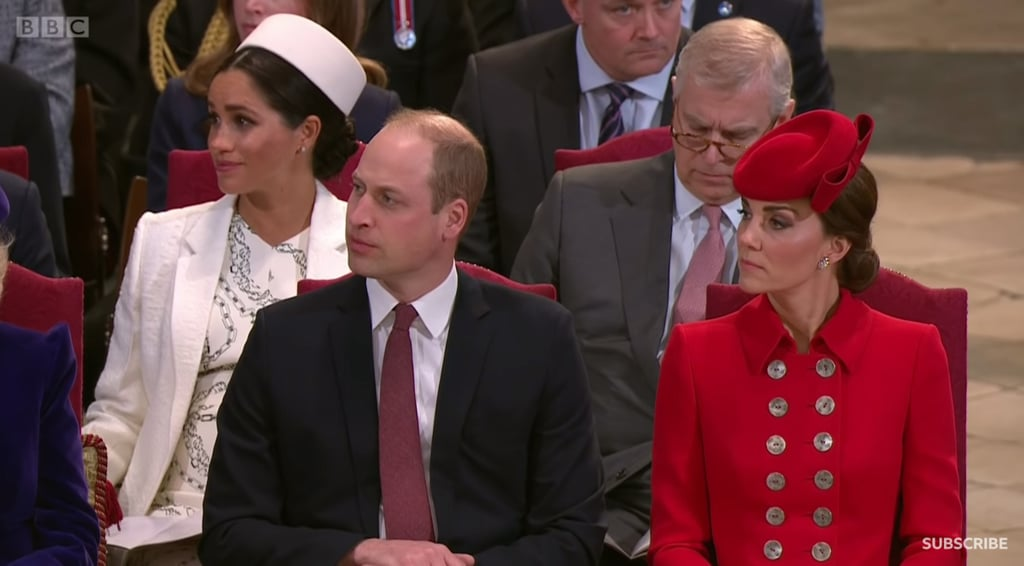 Meghan Markle Crying at Commonwealth Day Service March 2019