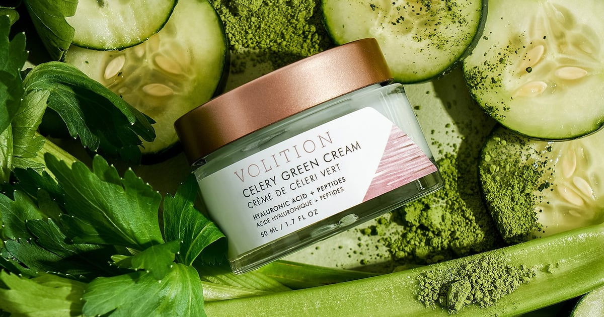 Celery Green Cream With Hyaluronic Acid + Peptides by Volition Beauty #6