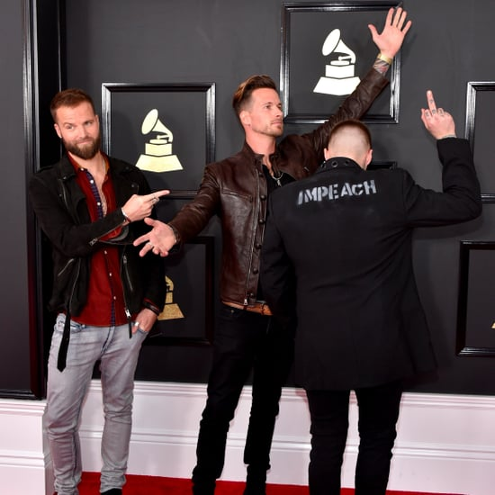 Highly Suspect Protest Trump at the 2017 Grammys