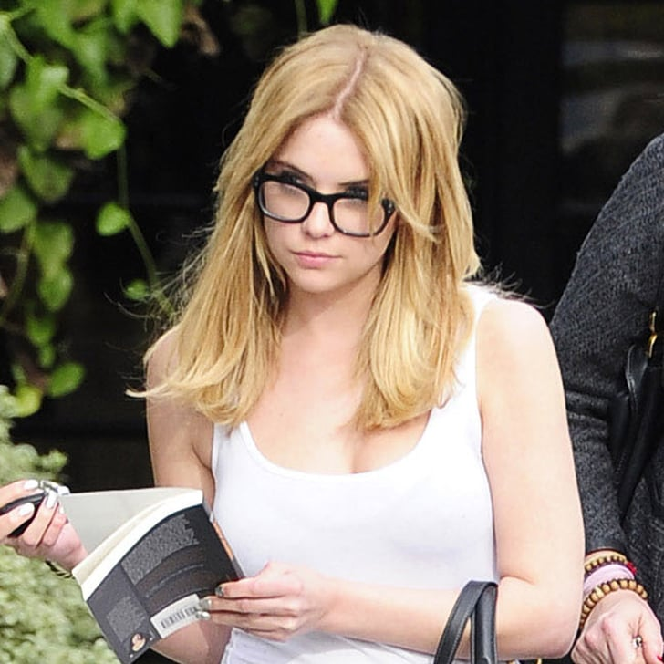 Ashley Benson Blond Hair 2013 | POPSUGAR Beauty Lorde Photoshoot 2013