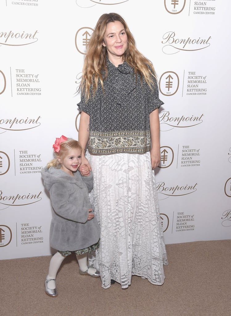 Drew Barrymore and Daughter at Society of MSK Event 2017 ...