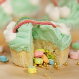 Surprise-Inside Lucky Charms Cupcakes