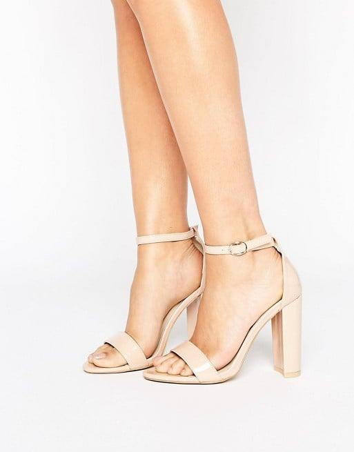 7d6d377d128 ASOS Patent Leather Block Heels