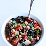 Vegan: Chickpea and Kale Stew