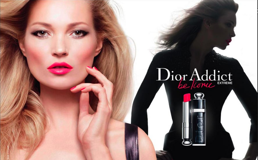"Kate Moss looks smoking hot in the new campaign for Dior Addict Extreme (£24) lipstick range. The British model wears black in the images for the Dior collection, which is available in 12 shades including four new-season additions. A spokesman for Dior said: ""Kate's allure is all her own. She takes a bold stance with colour and elegantly shows off her style."" Take a look at Kate's campaign here, and tell me what you think of the shots!"