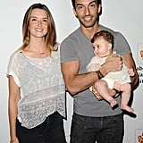 Justin Baldoni and Emily Foxier