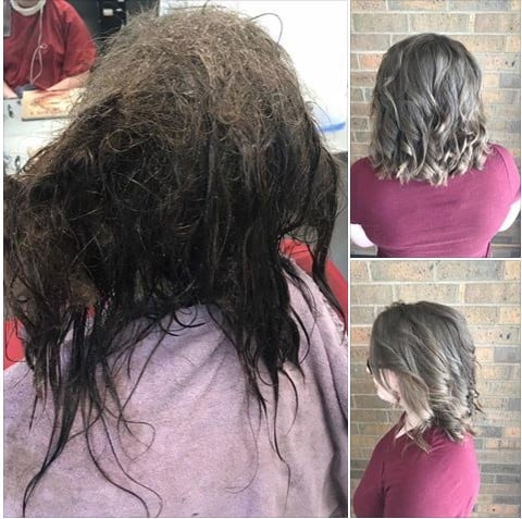 Hairdresser Spends 13 Hours on Depressed Teen's Hair