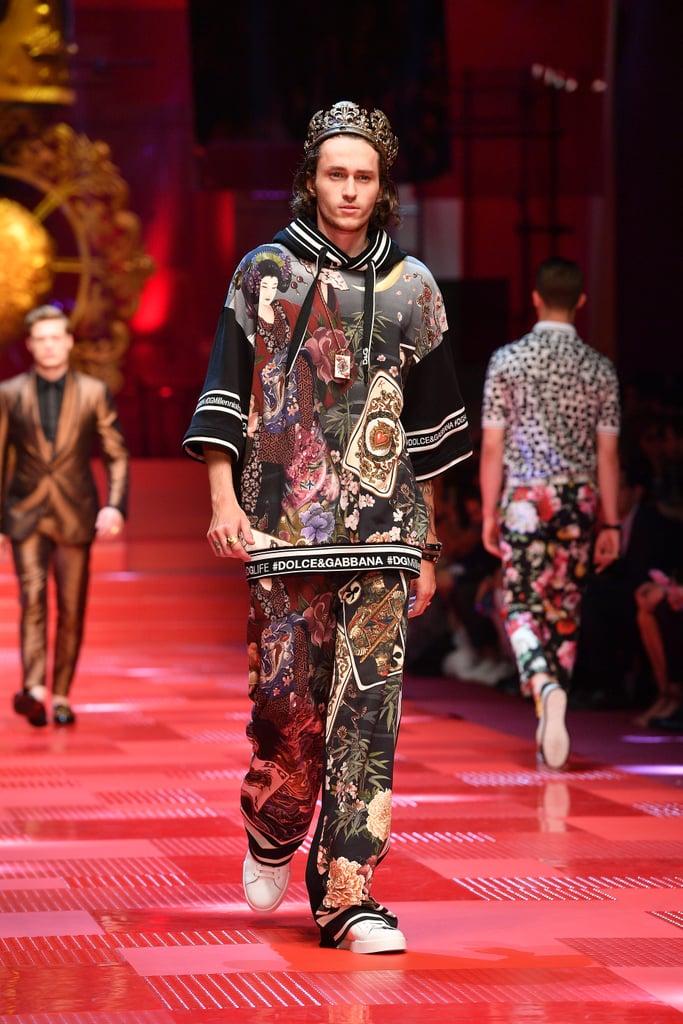 Braison Cyrus Walked the Dolce & Gabbana Spring/Summer '18 Show