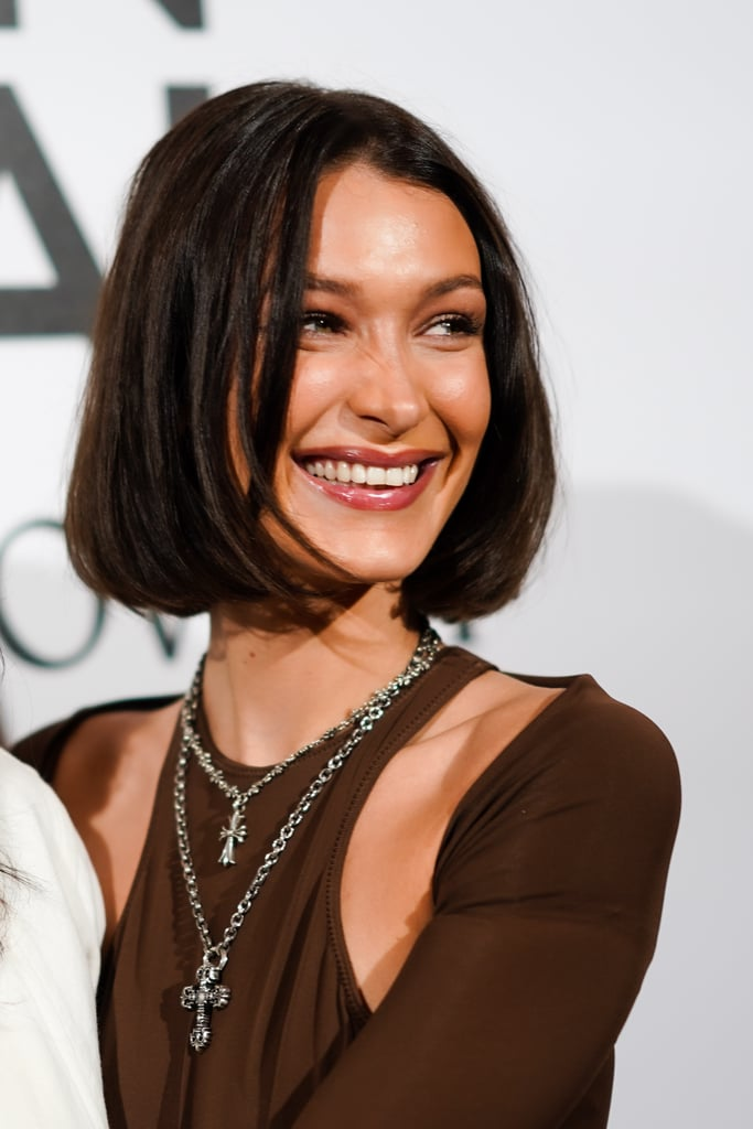 Bella Hadid Chopped Off Her Hair And Dyed It Black Popsugar Beauty